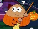 Pou limpar Halloween