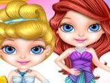 Barbie bebê roupas de princesas