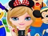 Bebê Barbie roupas da Disney