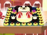 Preparar bolo do panda