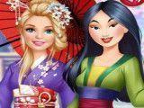 Barbie moda princesa Mulan