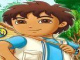 Diego pegar frutas