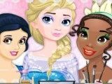 Barbie maquiar as princesas da Disney
