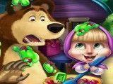 Masha e Bear mini chefe de cozinha
