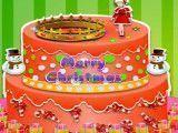 Decorar bolo natalino princesas