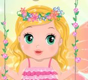 Fada bebê das flores