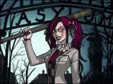 Fantasia do Halloween garota