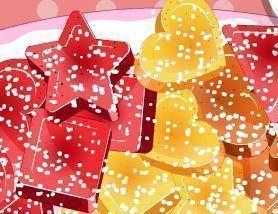 Fazer bombons de frutas