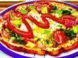 Fazer pizza de tomate com brócolis