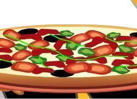 Fazer pizza para servir clientes