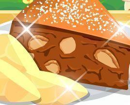 Fazer torta de maça e nozes