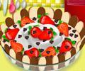 Fazer um delicioso bolo de mousse de chocolate