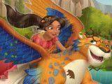 Elena cuidar do tigre voador