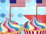 Receita de cupcakes do USA