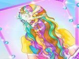 Rapunzel noiva penteado