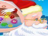 Médico do Papai Noel ouvido