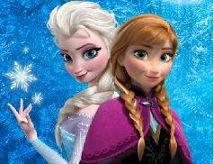 Filme Frozen decoração de quarto