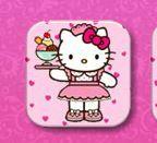 Hello Kitty cartas jogo da memória