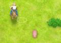 Jogo de cavalgar para capturar os porcos