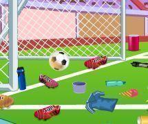 Limpar campo de futebol