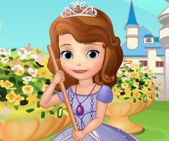 Limpar casa da princesa Sofia