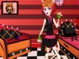 Limpar quarto da Monster High Toralei