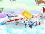 Limpeza do avião