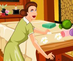 Limpeza do spa