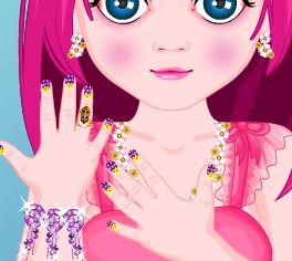 Manicure da princesinha