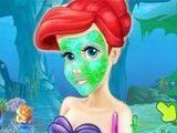 Maquiagem da sereia Ariel