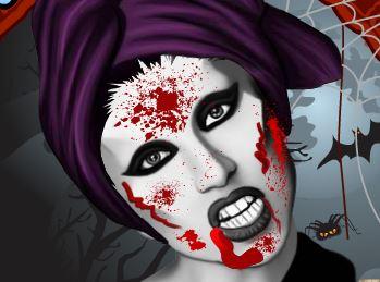 Maquiagem de vampira Lady Gaga