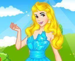 Maquiagem para princesa Aurora