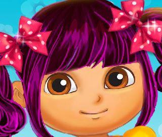 Maquiar boneca Dora