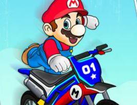Mario manobras radicais de moto