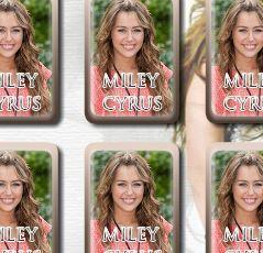 Miley Cyrus jogo da memória