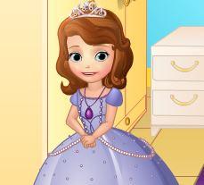Novo quarto da Princesa Sofia