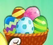 Ovos da Páscoa no canhão