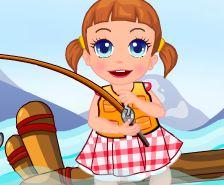 Pescar com a menina