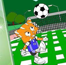 Pintar gato do futebol