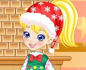 Polly roupas de Natal