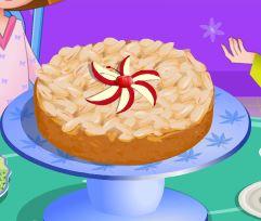 Preparar receita de torta de maçã