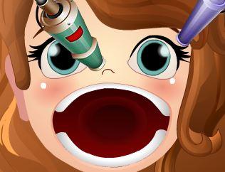 Princesa Sofia dor de garganta