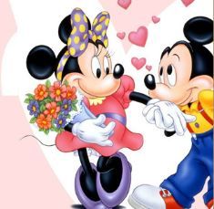 Puzzle Minnie e Mickey