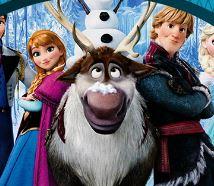 Quebra cabeça filme Frozen
