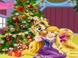 Rapunzel natal decoração