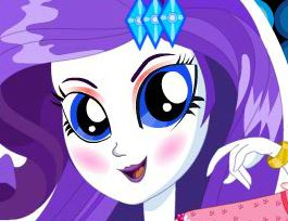 Rarity pônei no spa