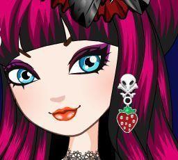 Raven Queen maquiagem