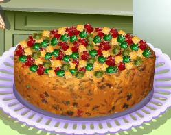 Receita de bolo de fruta da Sara