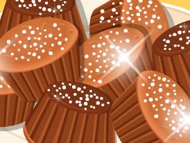 Receita de muffins de banana e chocolate