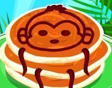 Receita de panquecas do macaco